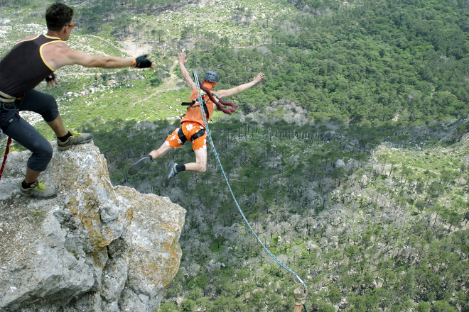 bungee jump experience gift