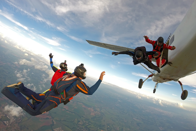 skydiving experience gift